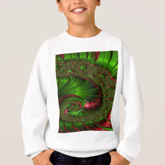 Christmas Twist Fractal Sweatshirt