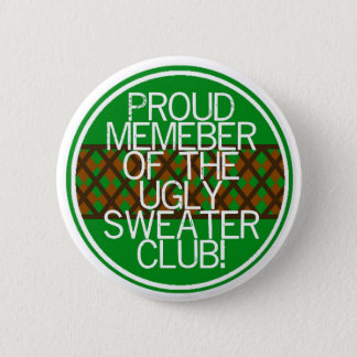Christmas ugly sweater Gifts 2 Inch Round Button