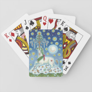 CHRISTMAS UNICORN Deck STANDARD PLAYING CARDS
