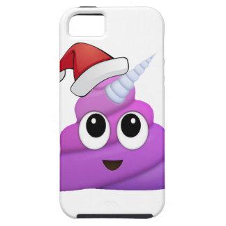 Christmas Unicorn Poop Emoji iPhone 5 Case