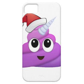 Christmas Unicorn Poop Emoji iPhone 5 Covers