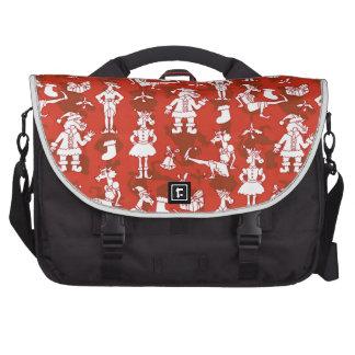 Christmas Unicorns Computer Bag
