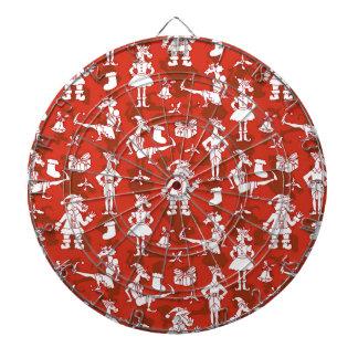 Christmas Unicorns Dartboard