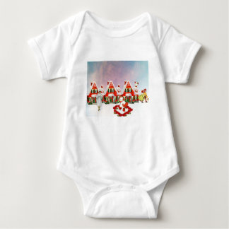 CHRISTMAS VILLAGE BABY BODYSUIT