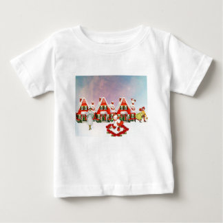 CHRISTMAS VILLAGE BABY T-Shirt