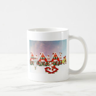 CHRISTMAS VILLAGE COFFEE MUG