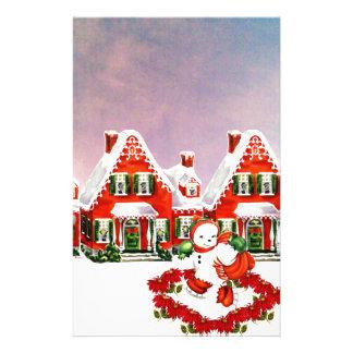 CHRISTMAS VILLAGE STATIONERY