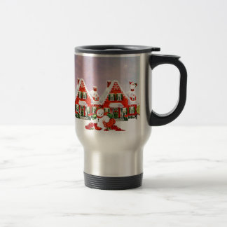 CHRISTMAS VILLAGE TRAVEL MUG