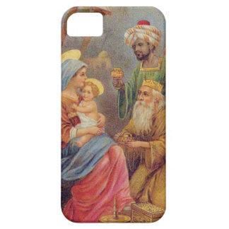 Christmas Vintage Nativity Jesus Illustration iPhone 5 Case