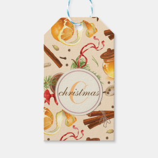 Christmas Vintage Scents Gift Tags
