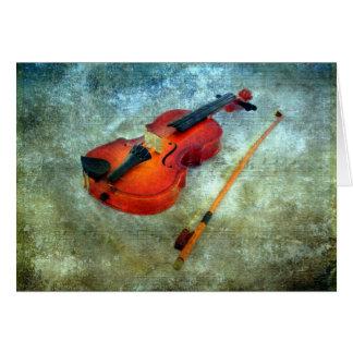 Christmas Violin Card