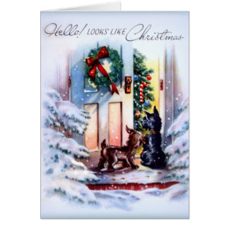 Christmas Visitors Card