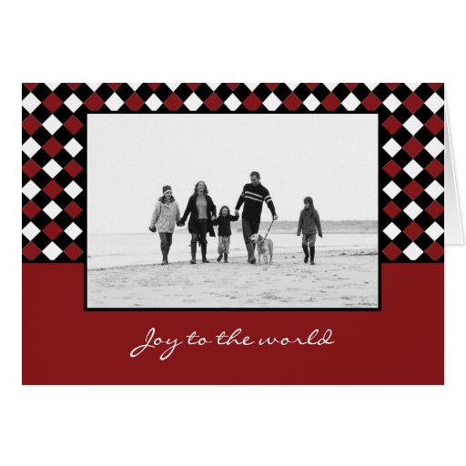 Christmas Weaves Christmas/ Holiday Photo Cards Cards