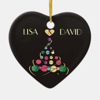Christmas Wedding Ornament