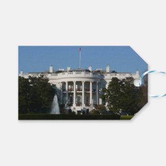 Christmas White House for Holidays Washington DC Gift Tags