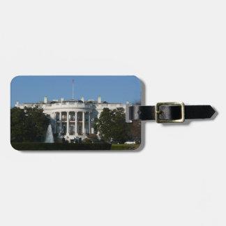 Christmas White House for Holidays Washington DC Luggage Tag