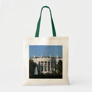 Christmas White House for Holidays Washington DC Tote Bag