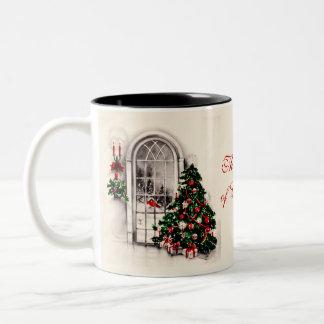 Christmas Window Coffee Mug