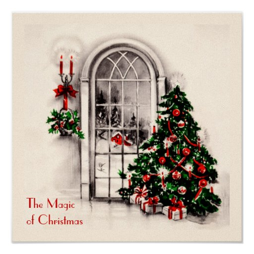 Christmas Window Poster