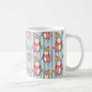 Christmas Winter Penguin Coffee Mug