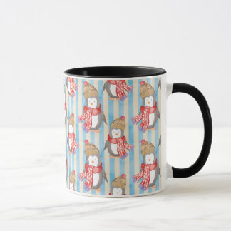 Christmas Winter Penguin Mug