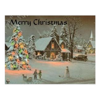 Christmas Winter Postcard - Customized