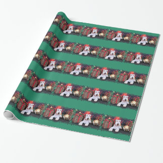 Christmas - Wire Fox Terrier - Dexter Wrapping Paper