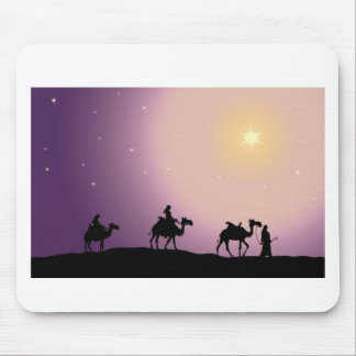Christmas Wise Men Mouse Pad