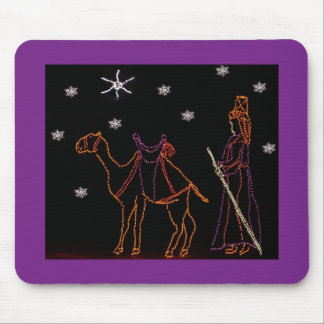 Christmas Wiseman Camel 1 2016 Mouse Pad