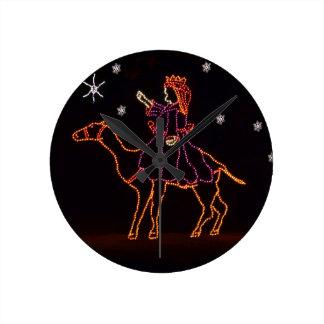 Christmas WIseman Star Camel ZZ H 2016 Wall Clock