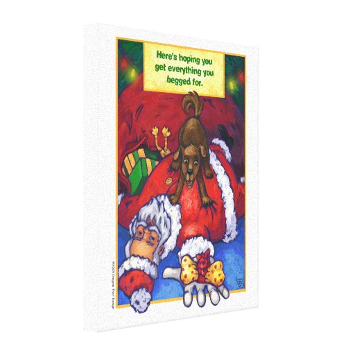 Christmas Wish Canvas Prints