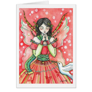 Christmas Wish Fairy - Greeting Card