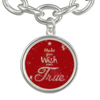 Christmas wishes bracelet