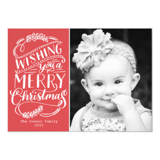 Christmas Wishes Collection Card