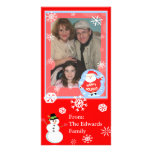 Christmas Wishes Family Photo Card