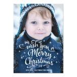 Christmas Wishes | Holiday Photo Card Custom Invitations