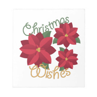 Christmas Wishes Notepads