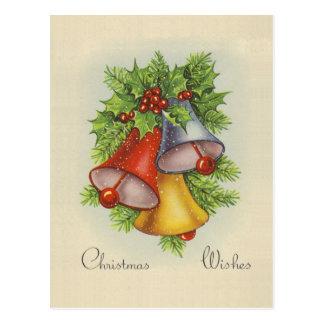 Christmas Wishes Postcard