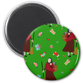 christmas witch Befana Magnet