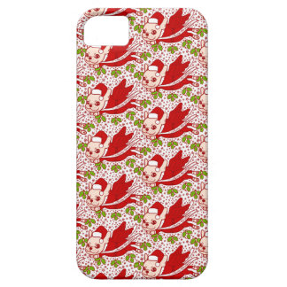 Christmas with a Frenchie iPhone 5 Case