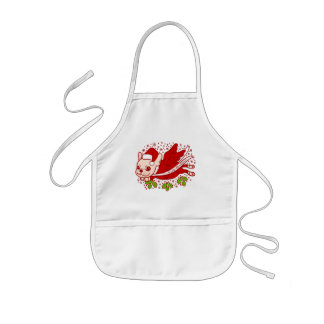 Christmas with a Frenchie Kids Apron