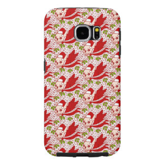 Christmas with a Frenchie Samsung Galaxy S6 Cases