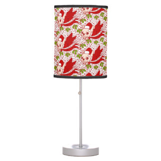 Christmas with a Frenchie Table Lamp