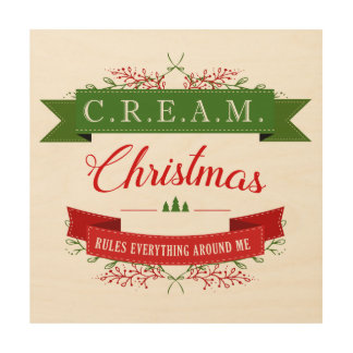 Christmas Wood Gallery Wall Art Square