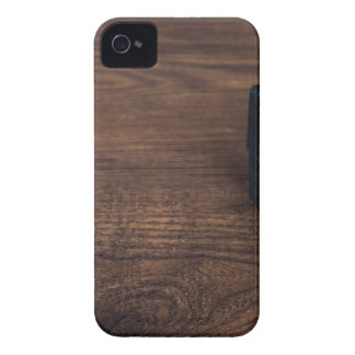 Christmas wooden background gift iPhone 4 case
