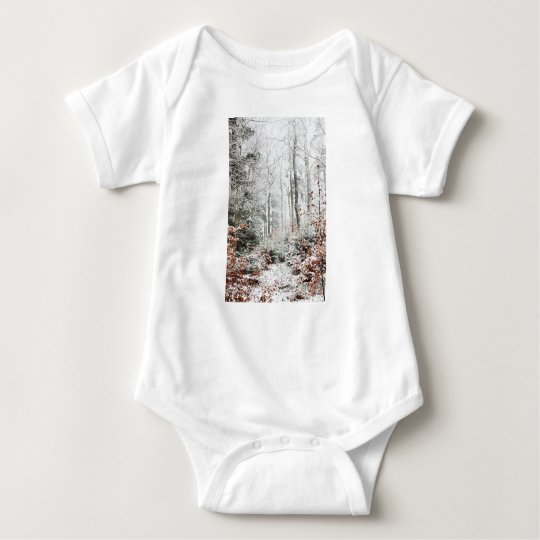 Christmas Woodland Baby Bodysuit