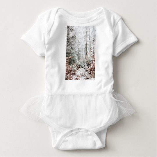 Christmas Woodland Baby Bodysuit