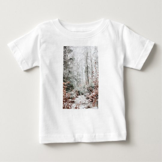 Christmas Woodland Baby T-Shirt