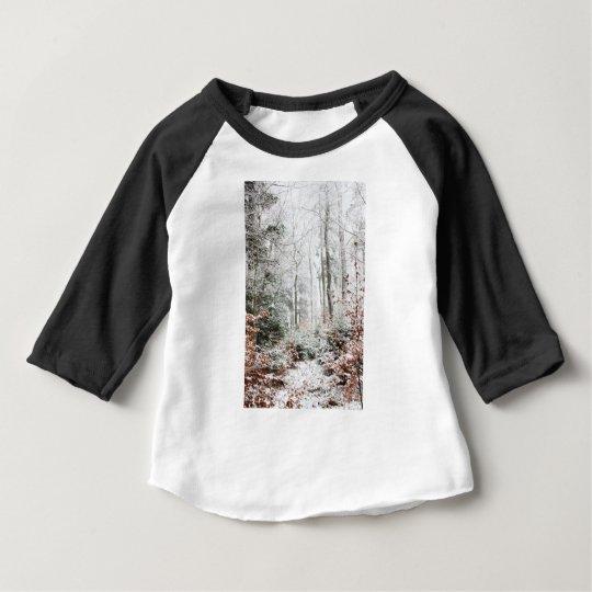 Christmas Woodland Baby T-Shirt