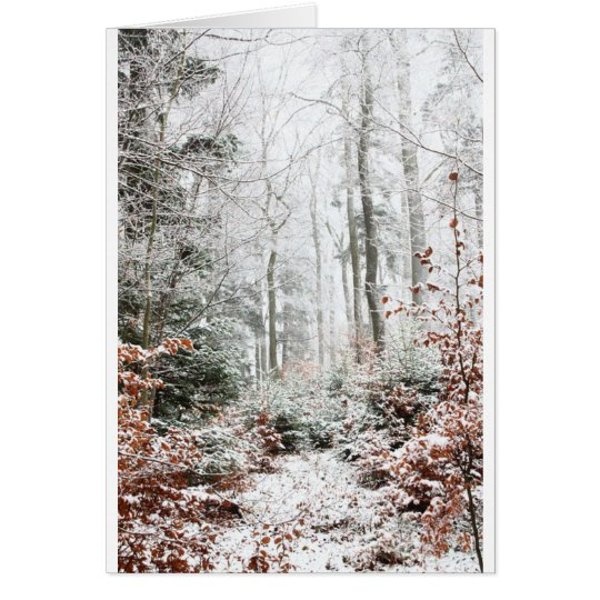 Christmas Woodland Card